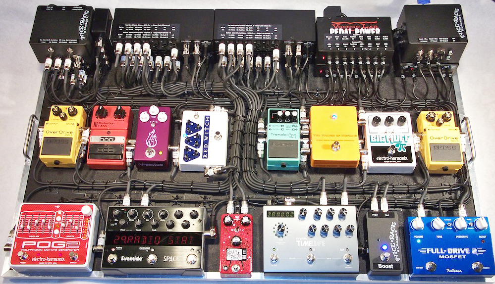 Pedal Board Breakdown - Jimmy Shaw - Metric