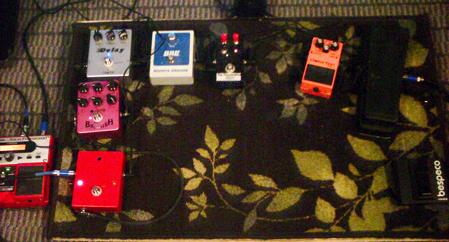 Pedal Line Friday - 7/12 - Bruce Lyons