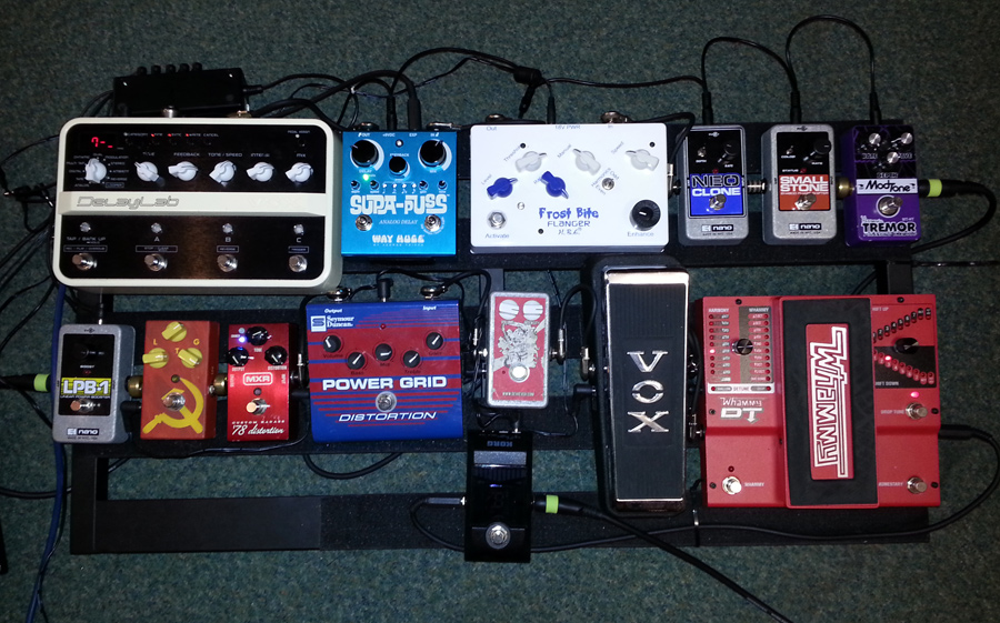 Pedal Line Friday - 8/2 - Joe Gray