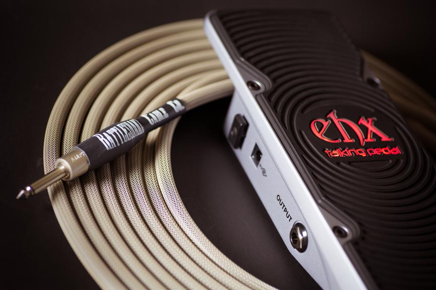 Electro-Harmonix Talking Pedal with Rattlesnake Cable