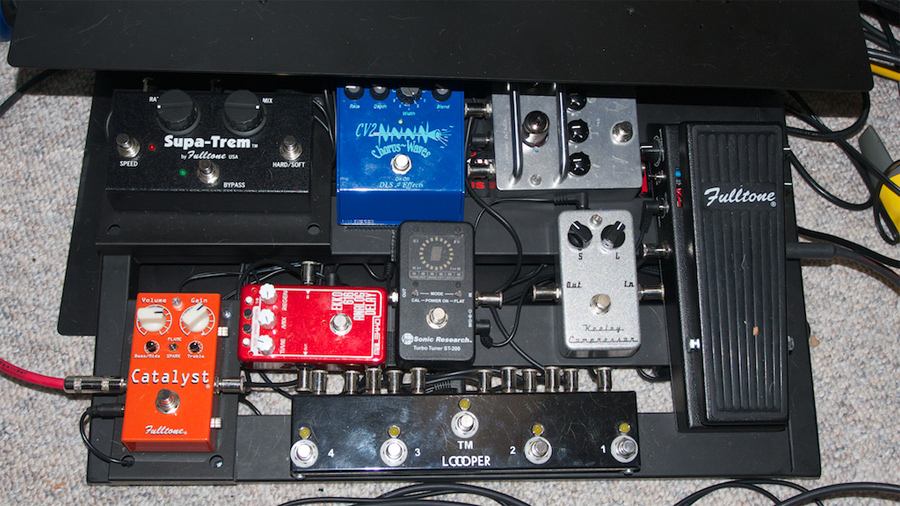 Pedal Line Friday - 9/27 - Nigel Houghton
