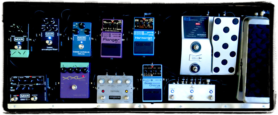 Pedal Line Friday - 9/27- Omer Cordell