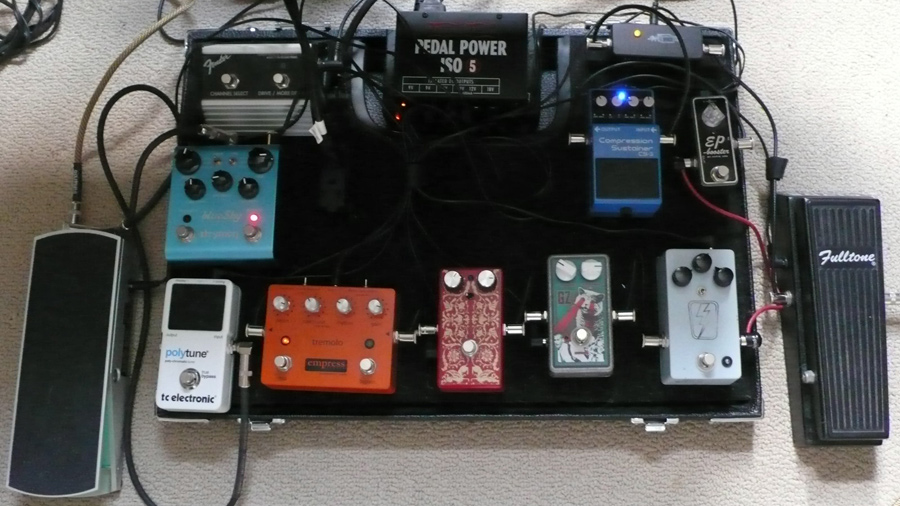 Pedal Line Friday (on Wednesday) – 9/4 – Johnny Balmer