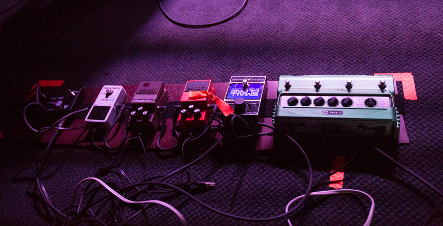 Rob Crow – Pinback – Pedalboard Break Down