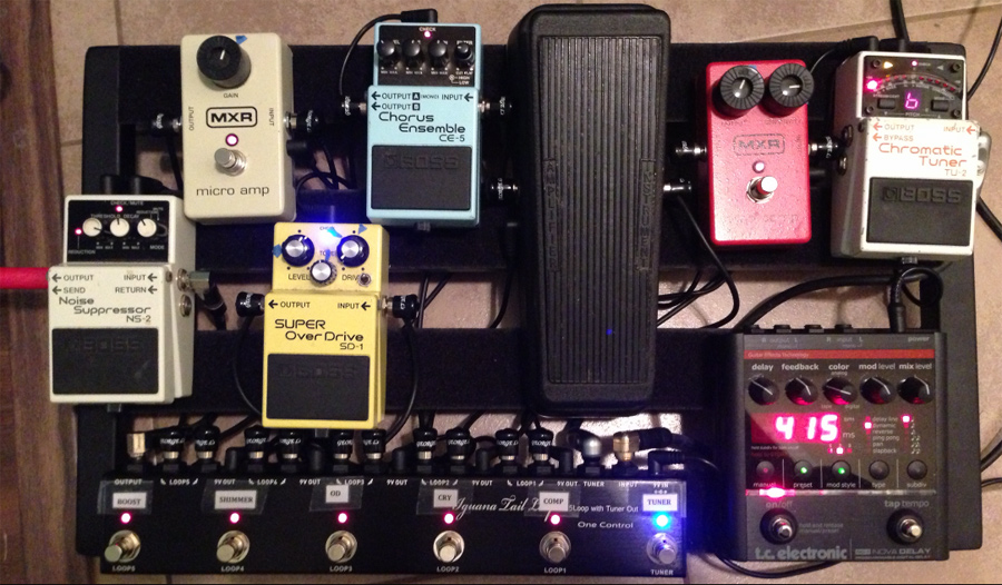 Pedal Line Friday - 10/18 - David Osborne