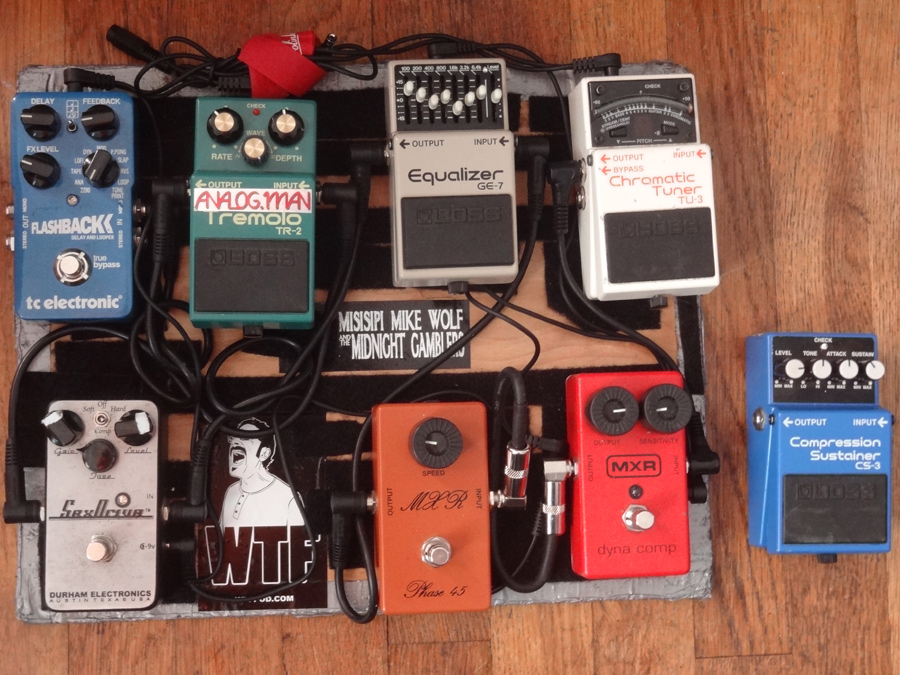 Pedal Line Friday – 10/25 – Michael Wolf