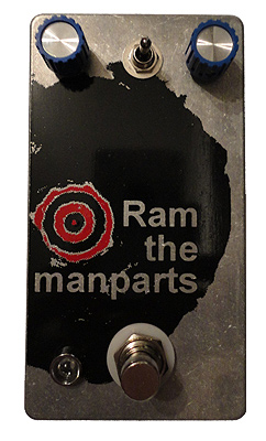FUZZROCIOUS Pedals - Ram the Manparts
