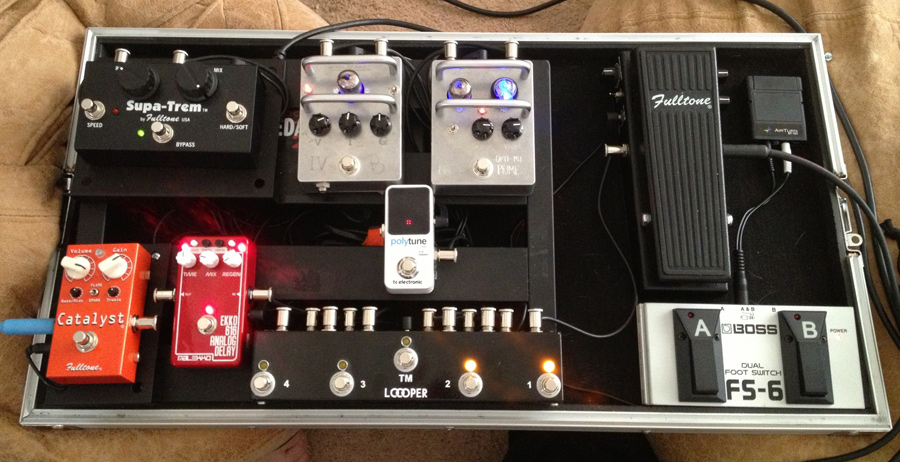 Pedal Line Friday - 11/1 - Nigel Houghton