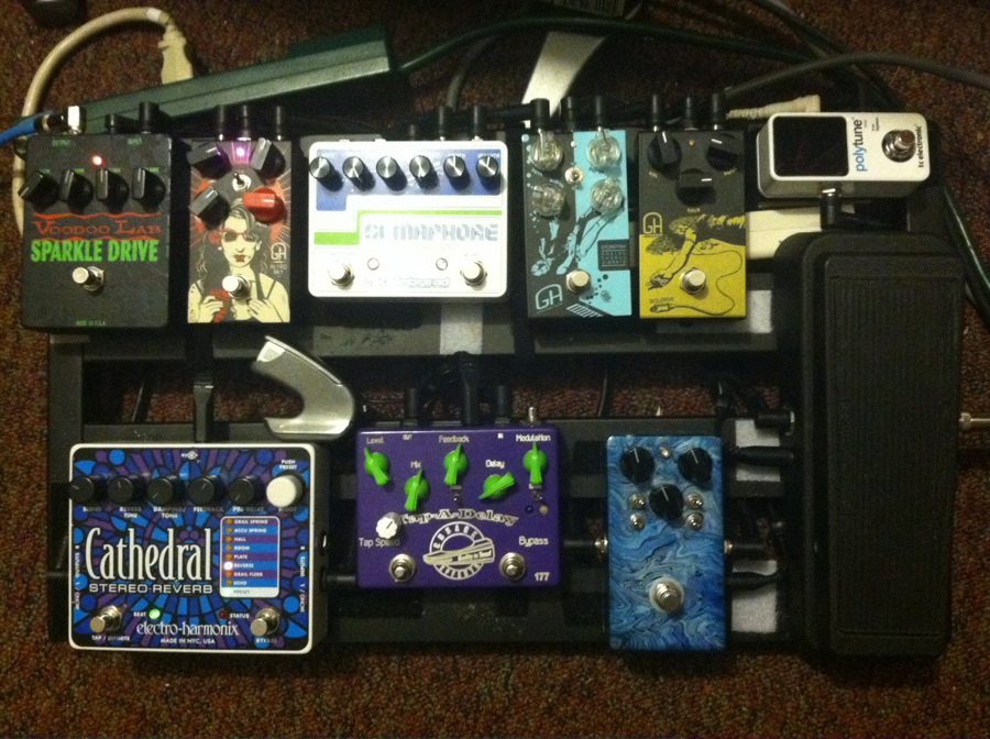 Pedal Line Friday - 11/1 - Travis Jarrett