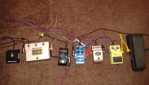 Pedal Line Friday - 11/15 - Joe Brown