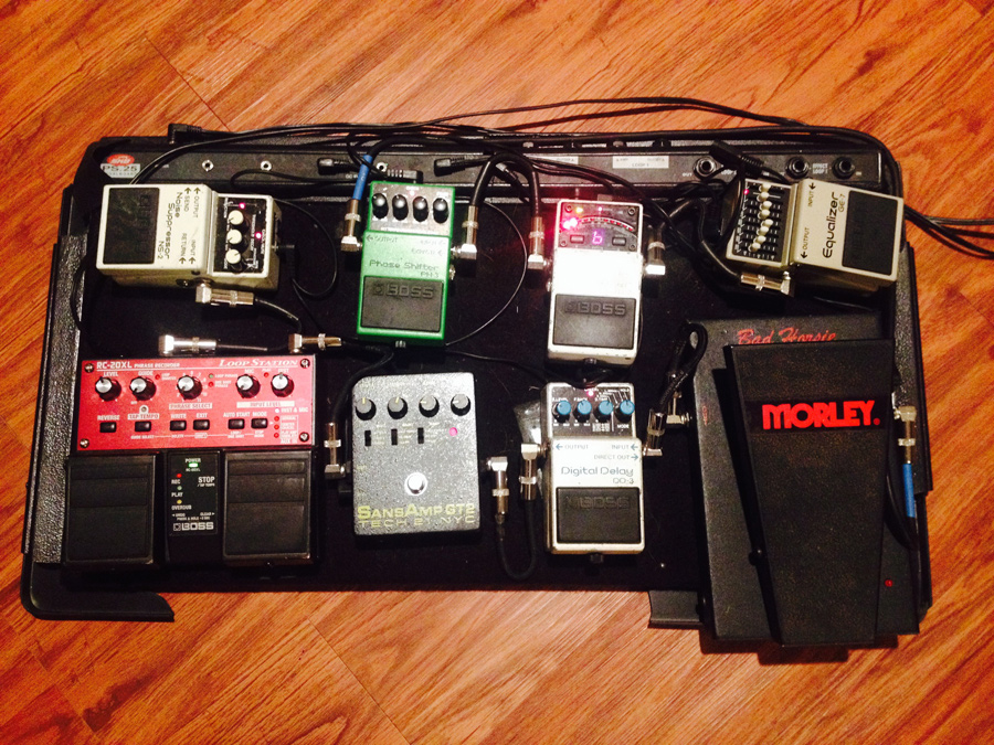 Guest Post: Time for a New Effect Board by Dave Tamkin