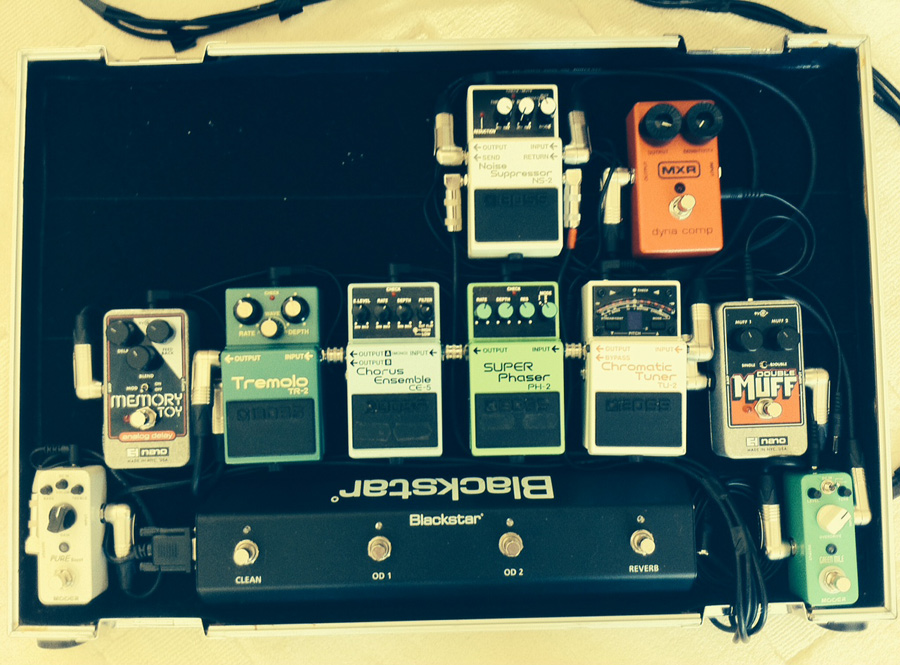 Pedal Line Friday - 12/27 - Darren Carless