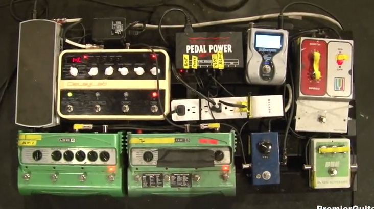 Pedalboard Break Down - Jake Snider - Minus the Bear