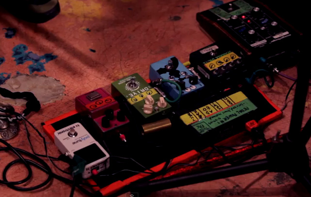 Pedalboard Break Down - Lee Ranaldo - Guitar Clinic