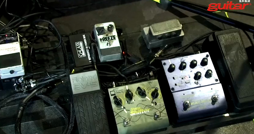 Pedalboard Break Down - Peter Hayes - Black Rebel Motorcycle Club