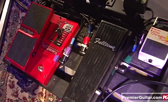 Pedalboard Break Down - Rich Robinson - Black Crowes