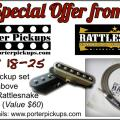 Upgrade your pickups - Porter Pickup Promotion