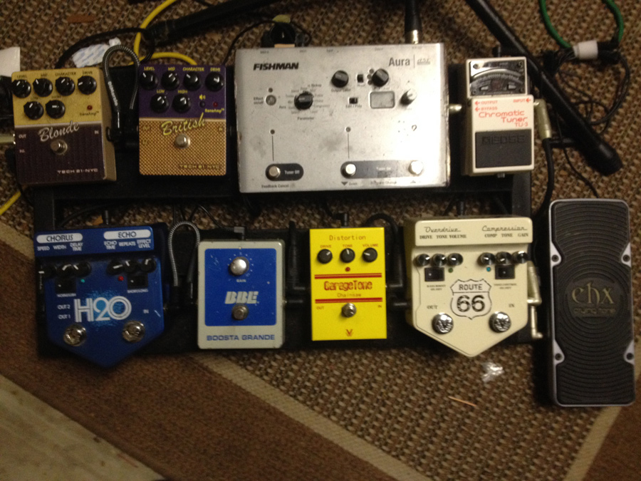 Pedal Line Friday - 1/3 - Chris Hendren