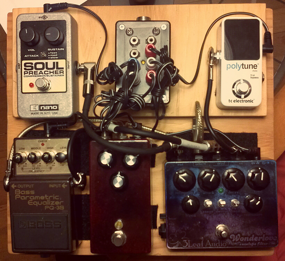 Pedal Line Friday - 2/21 - Bill Scherer