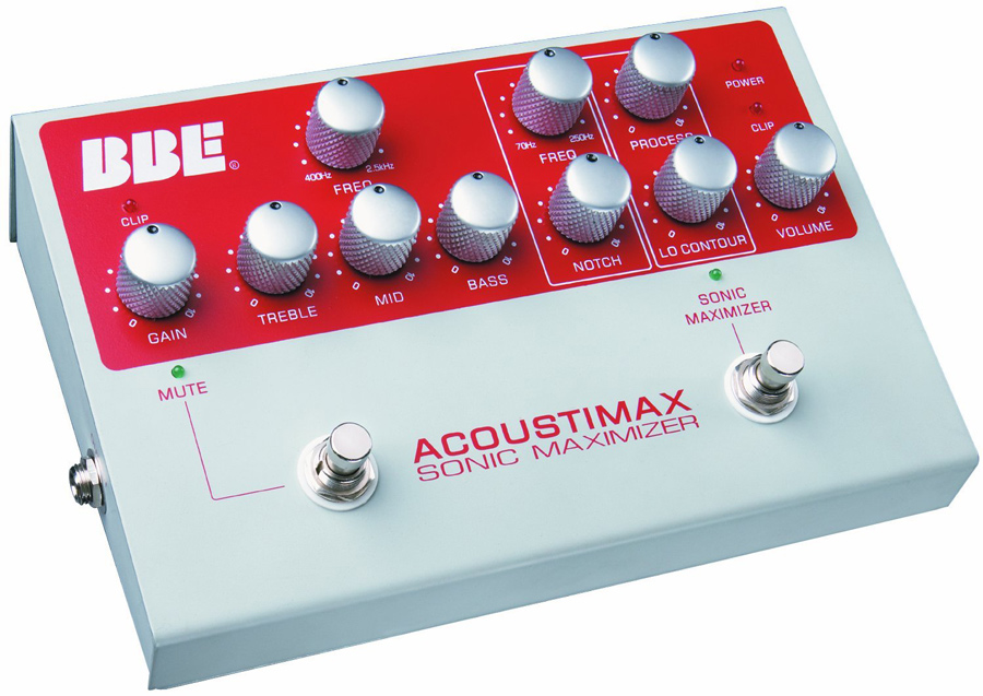 Awesome deal on the BBE Acoustimax Acoustic Instrument Preamp Pedal