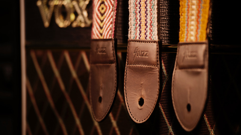 Interview with Lee McAlily of Original Fuzz about their Handwoven Peruvian Guitar Straps