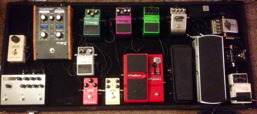 Pedal Line Friday - 3/7 - Adam Parkes