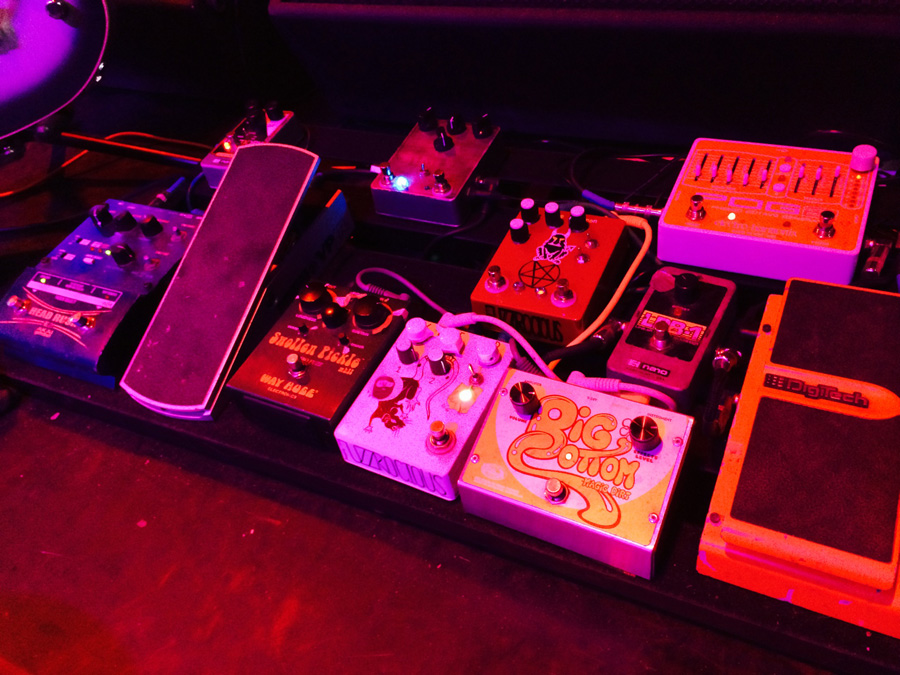 Russian Circles – Brian Cook – Pedalboard Break Down