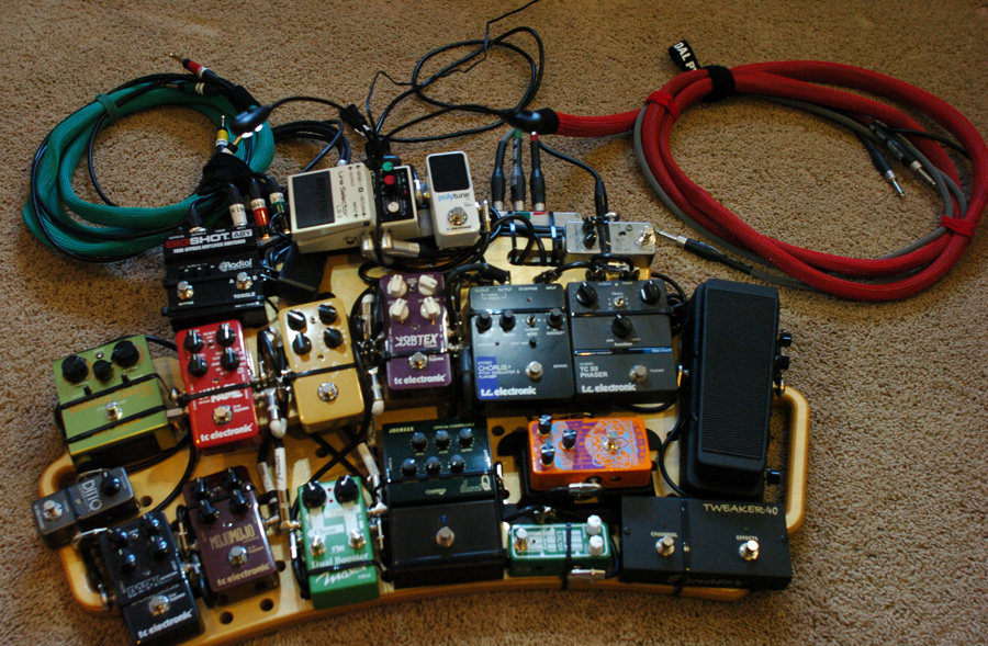 Pedal Line Friday - 4/18 - Philippe Baudet