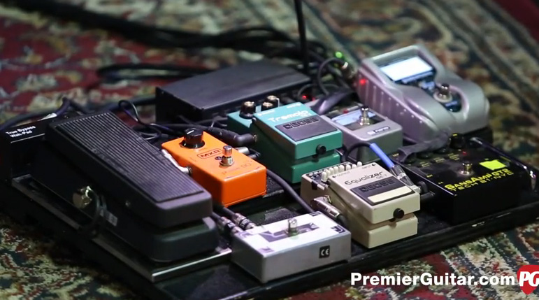 Pedal Board Breakdown - Chevelle Pete Loeffler