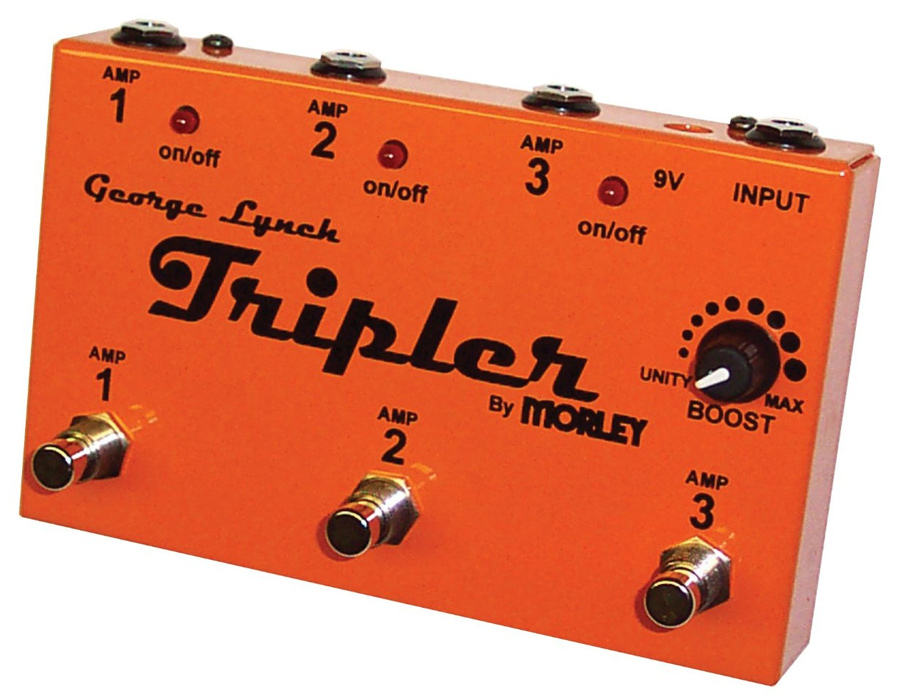 Morley George Lynch Tripler Multi-amp switch