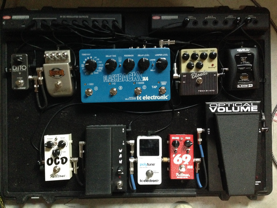 Pedal Line Friday - 7/25 - Scott Reynolds