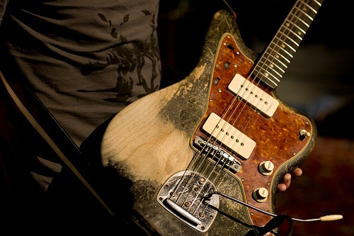 Nels Cline and his Jazzmaster