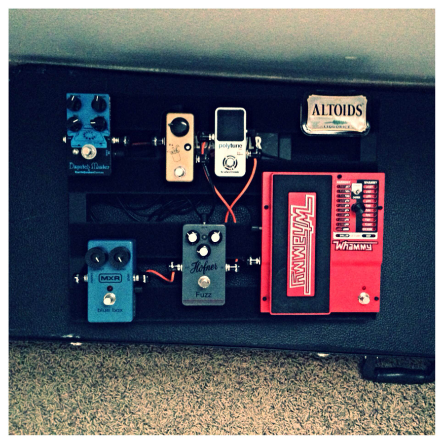 Pedal Line Friday - 10/10 - Andrew Droogsma