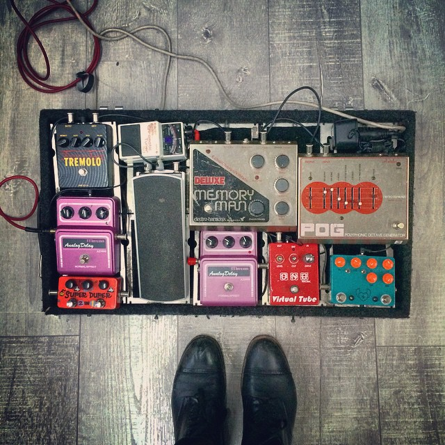 Zane Carney PedalBoard Break Down