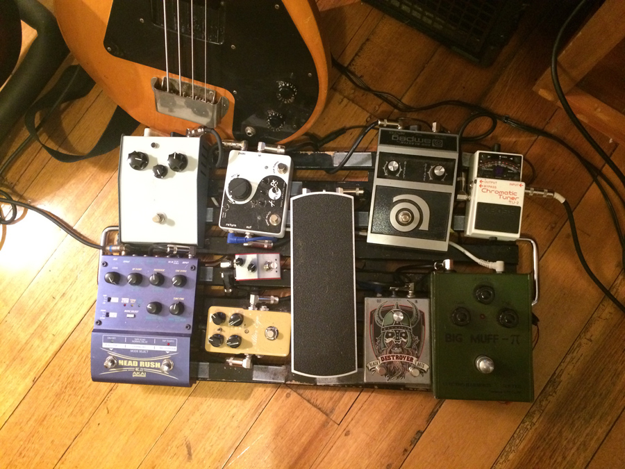Pedal Line Friday - 12/26 - William Syms