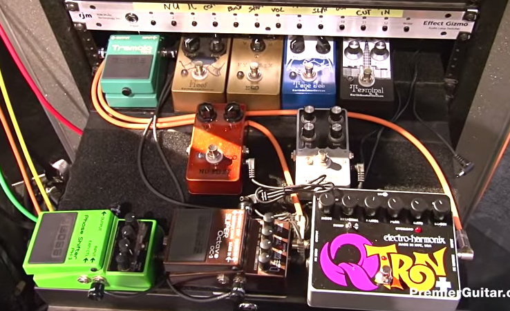 Dan Auerbach - The Black Keys - Pedalboard Break Down