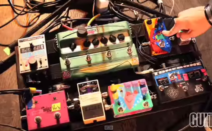 Drew Shirle - Switchfoot - Pedalboard Break Down