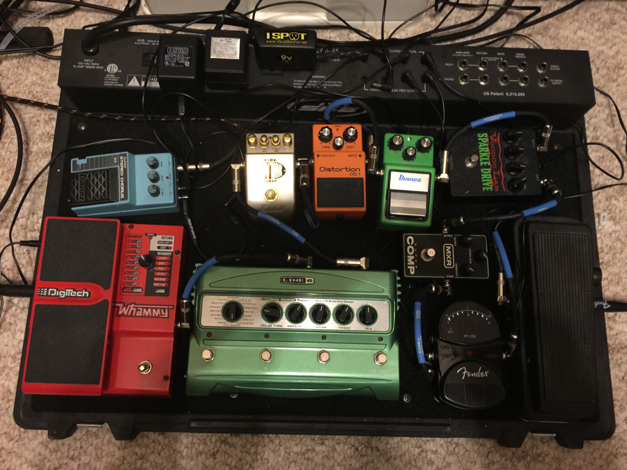 Pedal Line Friday - 1/9 - Brett Modglin