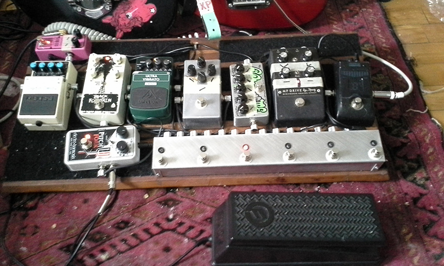 Pedal Line Friday - 2/13 - Julien-Pier Belanger