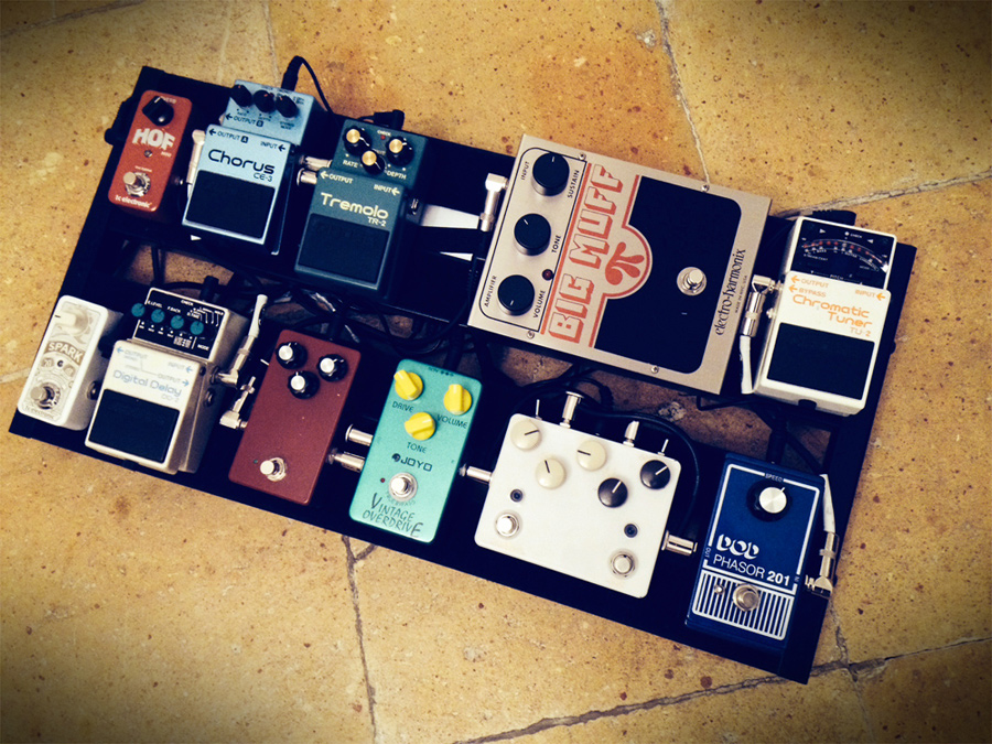 Pedal Line Friday - 2/27 - Jean-Thomas