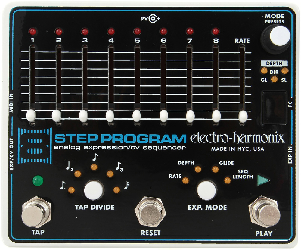 Cool Settings for Electro-Harmonix 8 Step Pedal