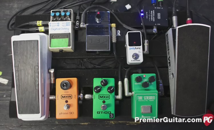 Mastodon's Brent Hinds Pedalboards - Guitar