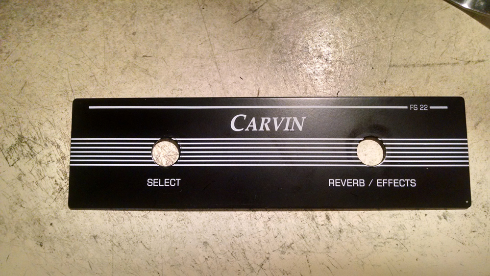Modifying Carvin FS22 to include LED indicators