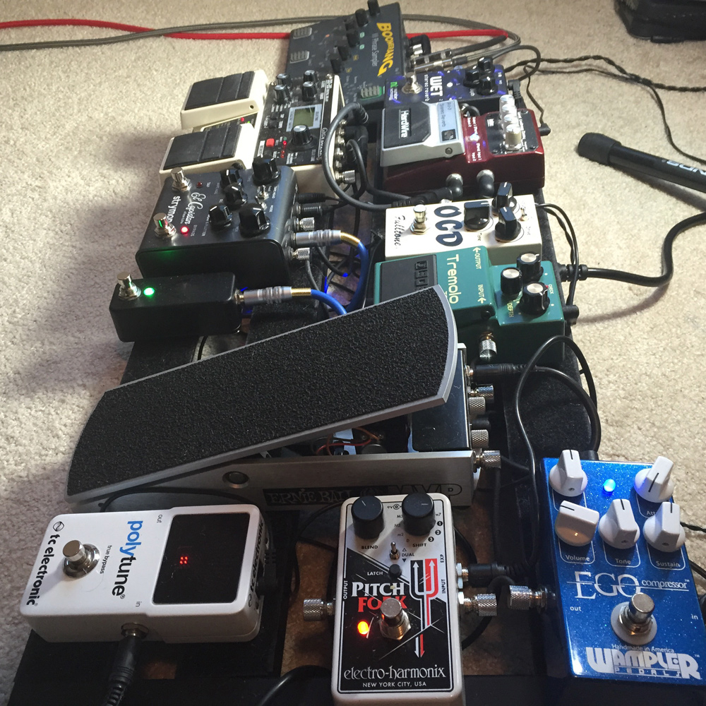 Nathan Shafer Pedalboard