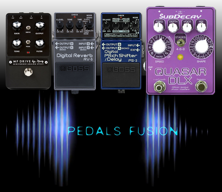 Pedals Fusion with Bass Guitar