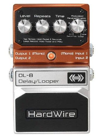 Stupid Deal on the DigiTech HardWire DL-8 Delay