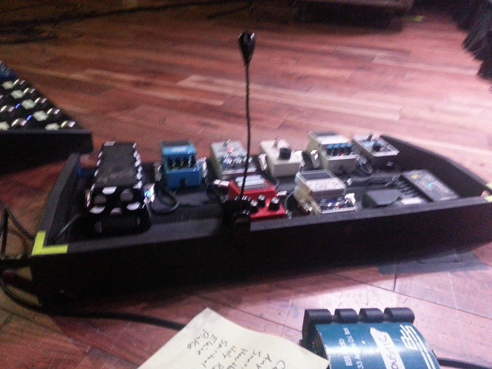 Andy Bell's Pedalboards