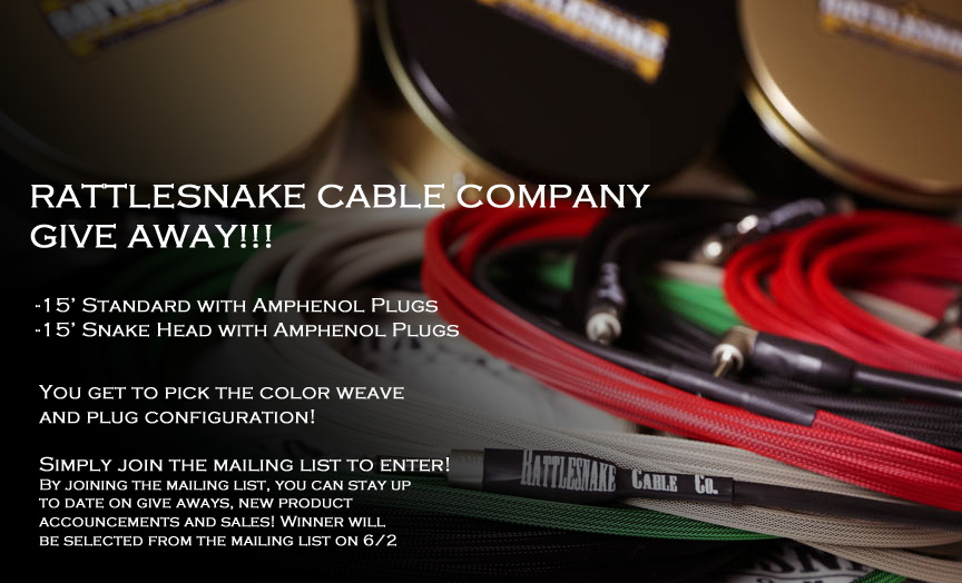 Rattlesnake Cable Company Give Away