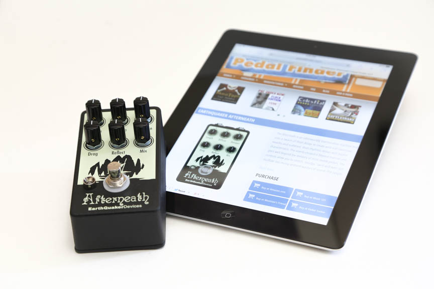 EarthQuaker Devices Afterneath Giveaway at PedalFinder