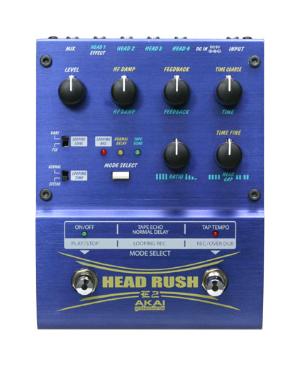 Sweet Deal on the Akai E2 Headrush Delay